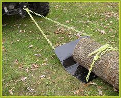 Log hauler for car