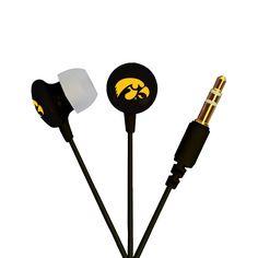 AudioSpice Ignite In-Ear Headphones - University of Iowa Hawkeyes