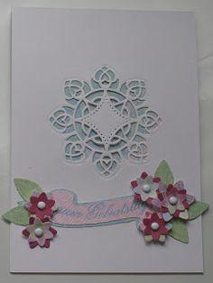 paperandco: Una card con intaglio