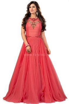 Gorgeous Pink Gown For Women