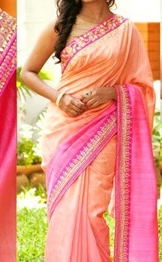 Designer Ethnic Pink and Orange Georgette Bollywood Replica Saree  #BollywoodReplicaSareesOnline #BollywoodReplicaSarees #BollywoodReplicaSareeOnline #BollywoodReplicaSaree #BollywoodSarees #BollywoodSaree
