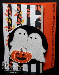 """OH happy day! It's the start of Preview Week for Create with Connie and Mary Holiday Card """"Create""""tions! What does that mean? Cards...cards...and more cards! I just LOVE the Fall Fest set and th..."""