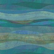 sandstone-rolling blue custom fabric by wren_leyland for sale on Spoonflower Landscape Fabric, Abstract Landscape, Blue Fabric, Surface Design, Custom Fabric, Spoonflower, Digital Prints, Wren, Wallpaper