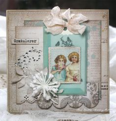 From Anne Kristine Skovborg Holt in Norway  Anne's paper fun