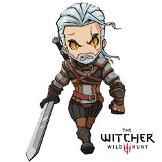 FA Geralt of Rivia (witcher 3) by XaR623
