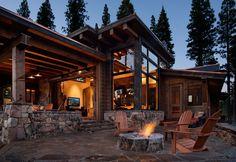 Lodge Cabin 284 - Walton Architecture & Engineering