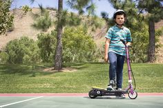 Amazon.com: Pulse Performance Products Reverb Electric Scooter, Plum Purple: Toys & Games