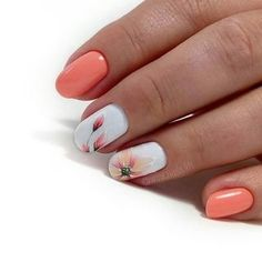 Fashionable short nail tips! Glamorous ideas for fashionable ladies … – Easy Nails Fashionable short nail tips! Glamorous ideas for fashionable ladies … Fashionable short nail tips! Glamorous ideas for fashionable ladies … Winter Nail Art, Winter Nails, Summer Nails, Cute Spring Nails, Cute Nails, Pretty Nails, My Nails, Dark Nails, Fall Nail Art Designs