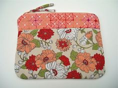This Zipper Pouch in Japanese Fabric is fabulous….it is a wonderful gift. Great for make up. For mobile. Extra cash or credit cards that you dont