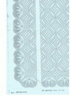 chales - Pepi Maneva - Álbumes web de Picasa Bobbin Lace Patterns, Crochet Patterns, Irish Crochet, Crochet Lace, Bobbin Lacemaking, Lace Art, Lace Jewelry, Needle Lace, Lace Making