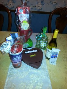 Prizes for super bowl party
