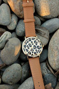 New! Leopard Watch