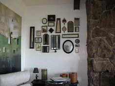 Great idea for the main mirror in a bathroom!