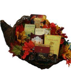 BESTSELLER! Art of Appreciation Gift Baskets   Thanksgiving Cornucopia of Snacks and Treats $47.60
