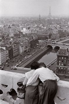 View from the Towers of Notre Dame by Henri Cartier-Bresson