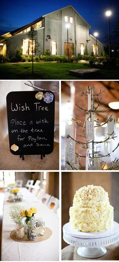 Vintage-Rustic Yellow and Gray Wedding in Texas modern-rustic-texas-summer-wedding-4 – WeddingWire: The Blog
