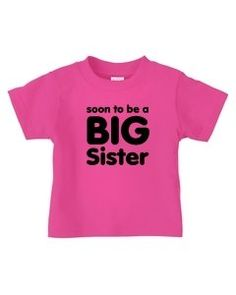 in raspberry Sister Shirts, Toddlers, Raspberry, Sisters, Crop Tops, Big, T Shirt, Women, Fashion