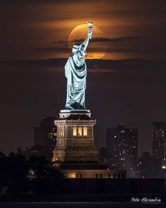 The Liberty enlightening the World by peter alessandria - The Best Photos and Videos of New York City including the Statue of Liberty, Brooklyn Bridge, Central Park, Empire State Building, Chrysler Building and other popular New York places and attractions.