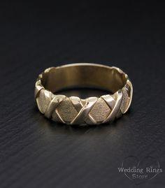 Cross trouwring belofte ring vrouwen of mannen brede