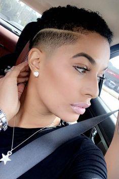 Natural Hair Short Cuts, Short Natural Haircuts, Short Hair Cuts For Women, Natural Hair Styles, Short Haircuts, Natural Tapered Cut, Tapered Hair, Modern Haircuts, Low Cut Hairstyles