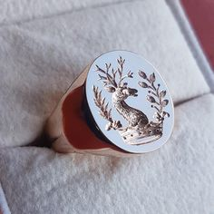 Ring Bear, Family Crest, Crests, Signet Ring, Men's Accessories, Seals, Cambridge, Gentleman, Gemstone Rings