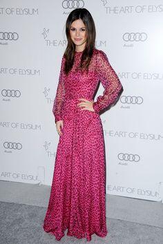 the divine rachel bilson in a rather divine dress