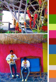 Mexico color palette