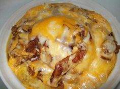 Crock-Pot Biscuit Breakfast Casserole.