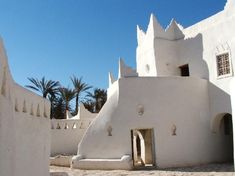 Old Town of Ghadamès, Libya - Located in an oasis, Ghadames is one of the oldest pre-Saharan cities and represents a traditional architecture with vertical division of functions.