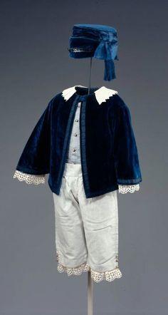 Boy's ensemble ca. 1855 via The Museum of Fine Arts, Boston