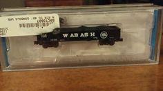 ATLAS 2405 WABASH 40' GONDOLA CAR - N scale Kept in original box #Atlas