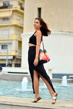 European travel blog | Alexandroupoli | #Cvetybaby http://cvetybaby.com/alexandroupoli/ #travel #travelblog #greece #blog #blogger #fblogger #lblogger  Black-maxi-skirt-H&M