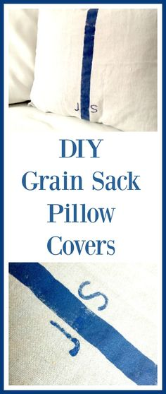 EASY DIY grain sack
