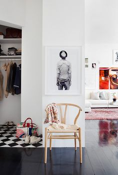 Art and pattern - via Coco Lapine Design