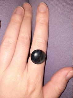 Magic Ring, Swirl Pattern, Ring Sizes, Adjustable Ring, Craft Stores, Gold Glitter, Antique Gold, Black And Grey, Etsy Seller