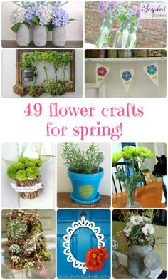 20 fresh spring craft projects do it yourself today pinterest 20 fresh spring craft projects do it yourself today pinterest craft spring and crafty solutioingenieria Images