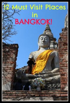12 Must Visit Places in Bangkok and Beyond! If you are traveling to Bangkok in Thailand this is the perfect travel guide!