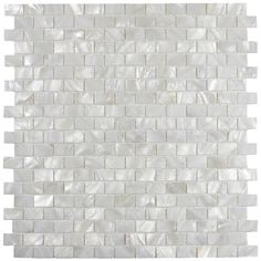 Premium quality genuine mother of pearl tiles (MOP Shell) Price Per One Sheet; size of each tile: x x Recommended Use: Kitchen Backsplash / Bathroom Walls / Fireplace / Swimming pool / Shower wall tile Natural textured and mesh-mounted As a natural Subway Tile Backsplash, Kitchen Wall Tiles, Kitchen Backsplash, Kitchen Cabinets, Brick Bathroom, Backsplash Cheap, Rustic Backsplash, Splashback Tiles, Travertine Backsplash
