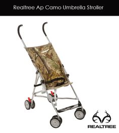 #New Cosco #RealtreeAp Camo Umbrella Stroller packs easily for a trip to the park. Available at Walmart.