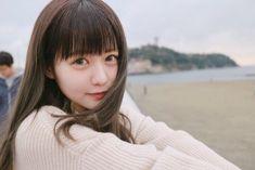 Cute Japanese Girl, Romantic Dates, Cute Faces, Beautiful Asian Girls, Ulzzang, Cute Girls, Hair Cuts, Kawaii, Poses