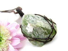 by stone abizajewelry peridot necklace crystal pin raw birthstone august