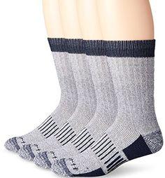 Carhartt Men's Four-Pack All Season Wool Work Socks #deals