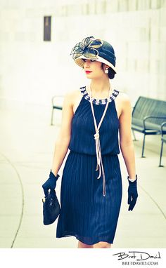 I would wear hats to work EVERYDAY if I could. Always love this look and this generation....