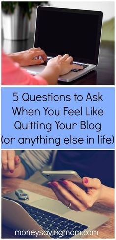 Have you had a hard week? Do you just feel like throwing in the towel and giving up? This honest look at one blogger and some struggles and times she has wanted to quit will encourage you...