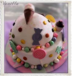'Candy Shop', Wonka inspired cake