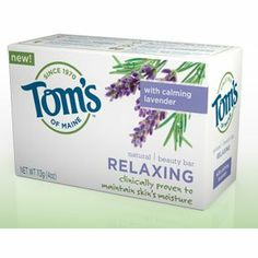 Tom's of Maine Moisturizing Bar Relaxing, 4-Ounces Bars ( Value Bulk Multi-pack) MULTI VALUE PACK! You are buying 5 packs. Each pack contains 6 units. You will receive a TOTAL PACKAGE QUANTITY of 30 combined units. Quantity: BULK PACK OF 5 packs. Each pack contains 6 units. Multi-Pack Package Quantity 30 UNITS Description: BAR SOAP,RELAXING . (In case of confusion on contents of this multi-pack - ... #Tom'sOfMaine #HealthAndBeauty