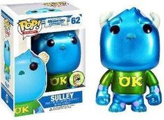 Metallic Sulley from Disney Monsters University, 2013 SDCC San Diego Comic-Con Exclusive vinyl figure #sdcc #monstersu #disney #exclusive  Funko POP! Disney Series