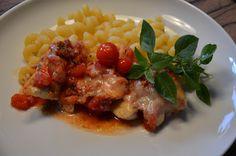 Food and More - Rezeptra: Mediteranes Hähnchenfilet mit Tomaten und Parmesan...