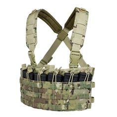 Multicam Condor Rapid Assault Chest Rig Vest 6 MOLLE Mag Pouch for sale online Airsoft Tactical Vest, Tactical Chest Rigs, Condor Tactical, Tactical Packs, Assault Vest, Shooting Gear, Military Gear, Elite Socks, Sport