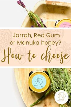What's the best honey for you? How Jarrah, Red Gum and Manuka honey differ in taste and power is explained in our blog. You can also sign up to our newsletter and receive 20% off your first order. #honey #luxuryhoney #jarrahhoney #redgumhoney  #nectahive #wellbeing Fake Honey, Best Honey, Australian Honey, Myrtle Tree, Honey Benefits, Manuka Honey, Bees Knees, Vitamins